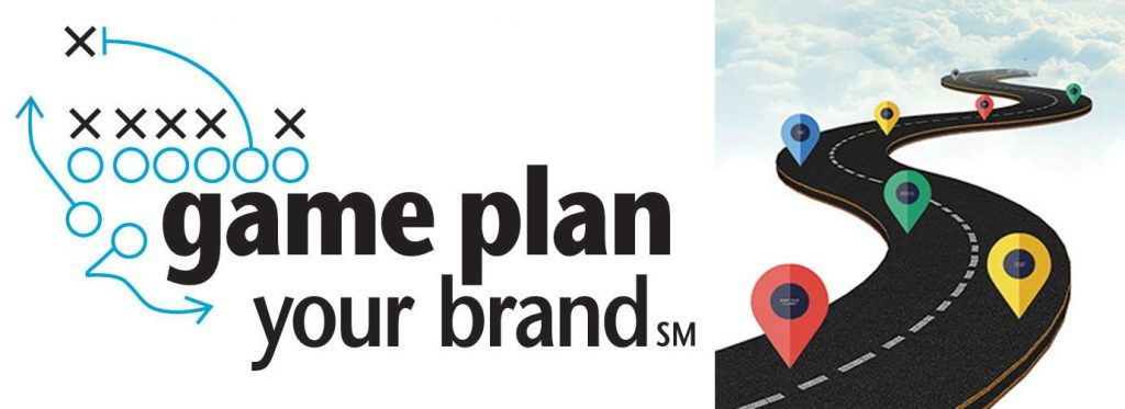 A Game Plan Your Brand strategy builds your customer journey.