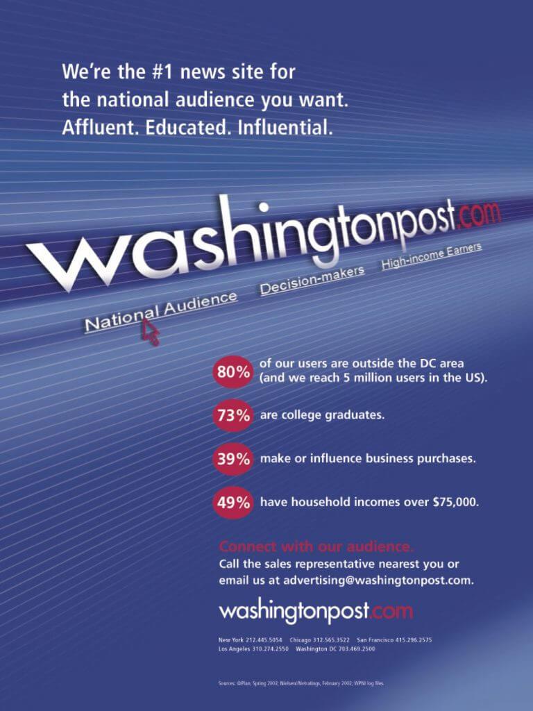 washingtonpost.com ad